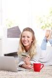 Online-Zahlung Stockfotos