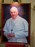 Paus Francis Portrait Royalty-vrije Stock Foto