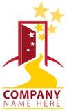 Open Door Path Logo Stock Image