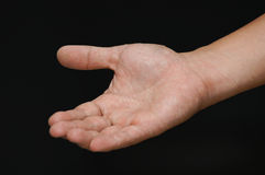 Open Hand. Royalty Free Stock Image