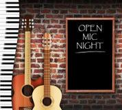 Open Mic Night Royalty Free Stock Image