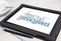 Open source software Royalty Free Stock Photos