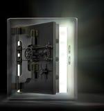 Opening the vault Stock Photo