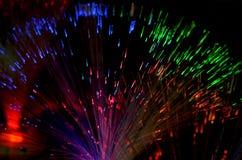 Optic fibers Stock Images