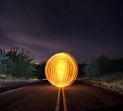 Orange Orb Royalty Free Stock Image