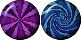 Orbs - spheres Royaltyfri Bild
