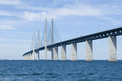 Oresund bridge Royalty Free Stock Images