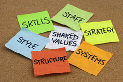 Organizational culture and development Royalty Free Stock Photography
