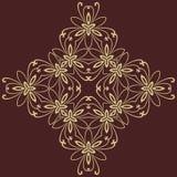 Orientalisches abstraktes Muster Stockfoto