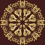 Orientalisches abstraktes Vektor-Muster Stockfotografie