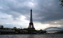 Orizzonte di Parigi Fotografia Stock
