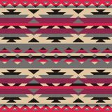 Ornamental pattern for knitting and embroidery. American Indians, Navajo, tribal, ethnic fabric. Royalty Free Stock Photography