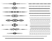 Ornamental rule lines Royalty Free Stock Photos