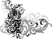 Ornamental swirls Royalty Free Stock Photo