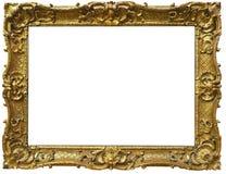 Vintage Baroque Gold Frame Royalty Free Stock Photo