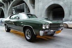 Oude Chevrolet-Auto Royalty-vrije Stock Foto's