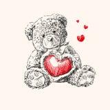 ours-de-nounours-avec-le-coeur-28674487