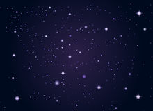 Outer space stars background Royalty Free Stock Images