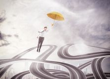 Overcome with strategy Royalty Free Stock Photo