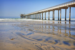 Pacific Coast Pier, La Jolla California Royalty Free Stock Photos