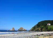 Pacific Northwest Beach Stock Image
