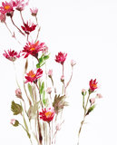 Painting of flowers Royalty Free Stock Photos