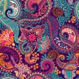 Paisley seamless pattern Royalty Free Stock Photography