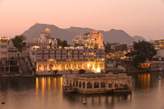 Palace.Udaipur.India. Royalty-vrije Stock Afbeeldingen
