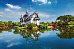 Palazzo di Sanphet Prasat, Tailandia Fotografia Stock Libera da Diritti
