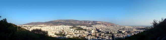 Panorama de Atenas Imagem de Stock