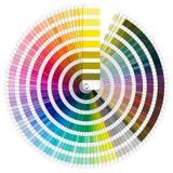 Pantone Color Palette Stock Images