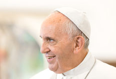 Papa Francis Fotografie Stock Libere da Diritti