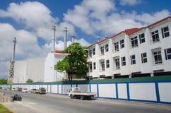 Parte industriale della città maschio Immagini Stock