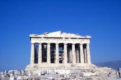 Parthenon - vista frontale Fotografia Stock Libera da Diritti