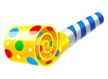 Party Horn Blower Royalty Free Stock Image