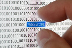Password security Royalty Free Stock Photos