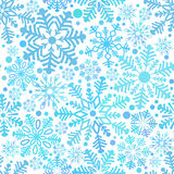 Pattern from snowflake Stock Photo
