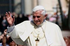 Paus Benedict XVI Royalty-vrije Stock Foto's