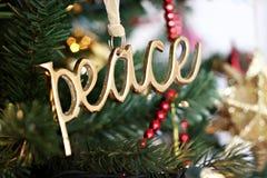 Peace Ornament Royalty Free Stock Photo