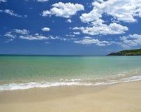 Peaceful beach Stock Image