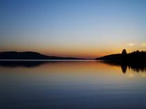 Peaceful Sunset Stock Photos