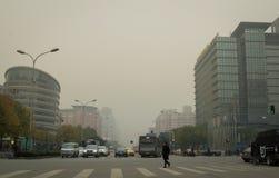 Peking-Luftverschmutzung 3 Lizenzfreie Stockfotos