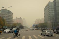 Peking-Luftverschmutzung 2 Stockbild