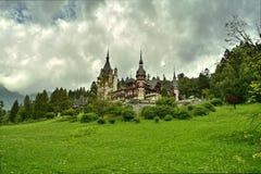 Peles palace, Romania Stock Images