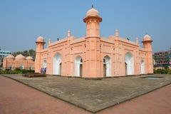 People explore mausoleum of Bibipari in Lalbagh fort in Dhaka, Bangladesh. Royalty Free Stock Photos