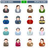 People Icons [1] - Robico Series Royalty Free Stock Photos