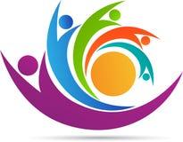 People team logo Royalty Free Stock Photos