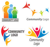 People Together Logo Royalty Free Stock Images