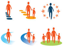 Person and People Logo Stock Photography
