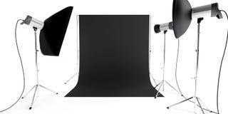 Photo studio equipment Stock Photos